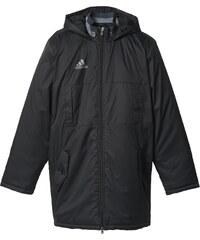 adidas Fotbalový zimní kabát černá XS