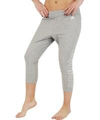 adidas Pohodlné 3/4 kalhoty šedá S