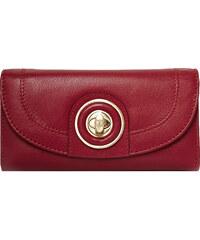 Červená kožená peněženka Ri2K