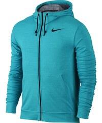 Nike Dri-Fit Training Fleece Fz Hdy modrá M