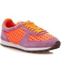 Colors Of California Sneakers mit Lederelementen - zweifarbig