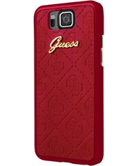 The Kase Guess Scarlett - Coque clapet pour Samsung Galaxy Alpha - rouge