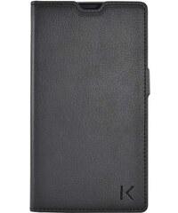 The Kase Coque clapet avec pochettes CB pour Sony Xperia T3 - noir