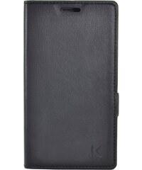 The Kase Coque clapet avec pochettes CB pour Nokia Lumia 830 - noir