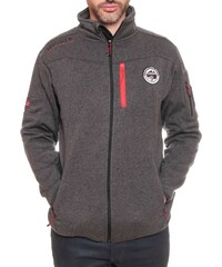 Geographical Norway Upstone - Sweat polaire - gris foncé