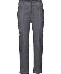 RAINBOW Pantalon cargo gris femme - bonprix