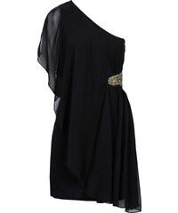 BODYFLIRT Robe à une manche noir femme - bonprix
