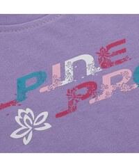 ALPINE PRO Dětské tričko s potiskem BUKKO- fialové