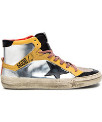 GOLDEN GOOSE 2.12 sneakers color silver