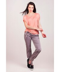 SAM 73 Dámské volné kalhoty s vázačkou PAWS16_15 gray - šedá