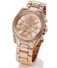BODYFLIRT Kovové náramkové hodinky chronografický vzhled bonprix