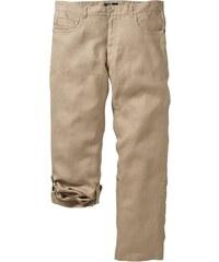 bpc selection Lněné kalhoty Regular Fit Straight bonprix