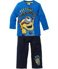 Despicable Me 2 Dlouhé tričko+kalhoty MINIONS (2dílná souprava) bonprix