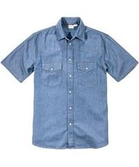 John Baner JEANSWEAR Džínová košile s krátkým rukávem bonprix