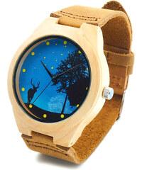 Lesara Leder-Armbanduhr mit Zifferblatt-Motiv