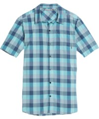 Icebreaker Departure II SS Shirt Plaid Men