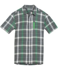 Icebreaker Compass II SS Shirt Plaid Men