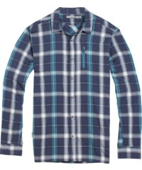 Icebreaker Compass II LS Shirt Plaid Men