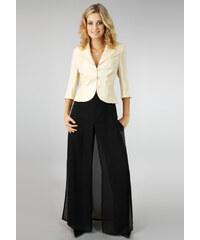 Mirema Společenské kalhoty s módním dvojitým efektem