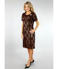 Artex Společenské krajkové šaty a75d1435652