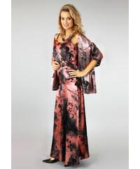 Con Duo Společenské šaty s romantickým šálem