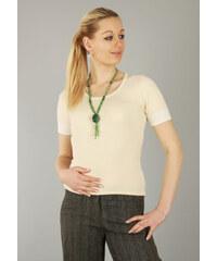 DR-Modo Úpletový svetr s krátkými rukávy