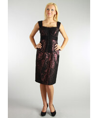 Hedvábné krajkové šaty - Semper