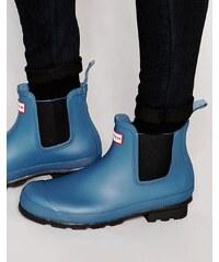 Hunter - Chelsea - Bottes en caoutchouc authentiques - Bleu