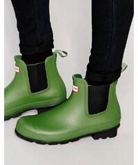 Hunter - Chelsea - Bottes en caoutchouc authentiques - Vert