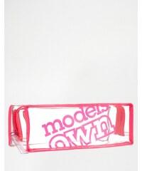 Models Own - Schminktasche im langen Design - Transparent