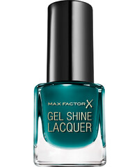 Max Factor Nr. 45 Gleaming Teal Gel Shine Lacquer Nagellack 4.5 ml