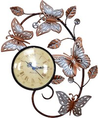 Home affaire Wanduhr »Schmetterling«