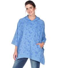 sheego Casual Sweat-Poncho