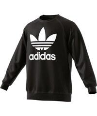 adidas Trefoil Crew Sweater black