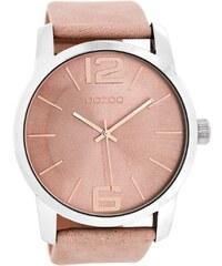 Oozoo Damen-Armbanduhr Altrosé C8030