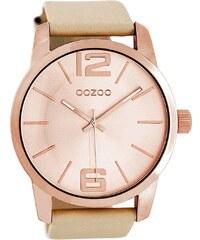 Oozoo Armbanduhr für Damen Beige C8035