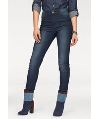 Arizona Damen High-waist-Jeans blau 36,38,40,42,44,46,48