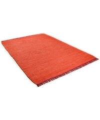 Teppich Cotton Colors handgearbeitet Tom Tailor orange 1 (B/L: 60x120 cm),2 (B/L: 80x150 cm),3 (B/L: 140x200 cm),4 (B/L: 160x230 cm)