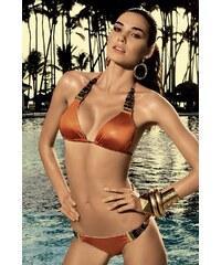 Vacanze Dámské luxusní dvoudílné plavky Laisan vyztužené oranžová 34