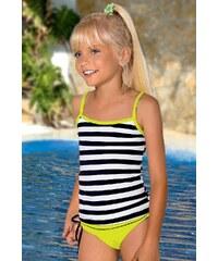 LORIN Dívčí plavky Sisi M56 barevná 158