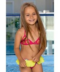 LORIN Dívčí plavky Kaia barevná 110