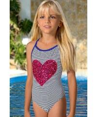 LORIN Dívčí plavky Nikki M57 barevná 140