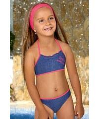 LORIN Dívčí plavky Michelle M66 modrá 122