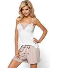 Nipplex Elegantní pyžamo Nikoleta mléčná XL