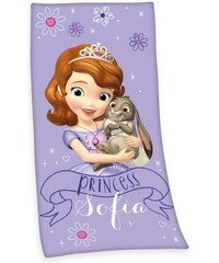 Disney Strandtuch Disney Sofia die Erste mit Sofia Motiv lila 1xStrandtuch 75x150 cm