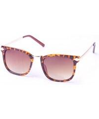 Trikátor Sluneční brýle Retro - Gepard se zlatými šipkami