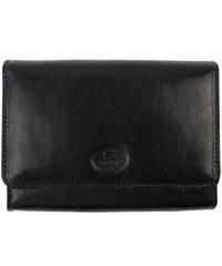 Kožená peněženka Uniko Pacov 317710 - černá