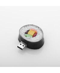 Bena USB-Stick im Lebensmittel-Design - Schwarz-Weiß - 8 GB