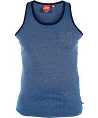 Lesara Tanktop mit Brusttasche - Blau - S