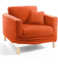 bpc living Husse Crincle in orange von bonprix